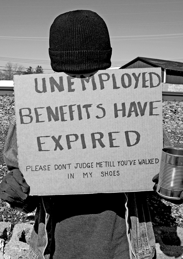 Unemployed Benefits Expired