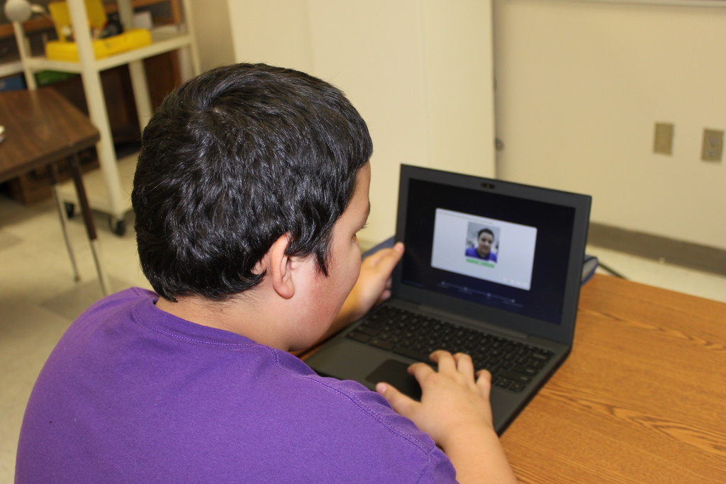 CCMS student at the important account picture stage