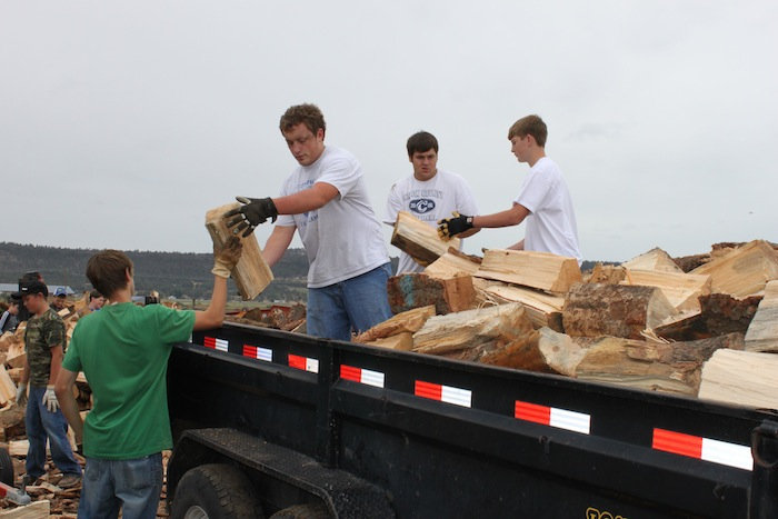 firewood fundraiser