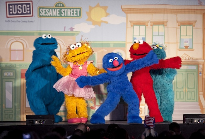 Sesame Street on stage