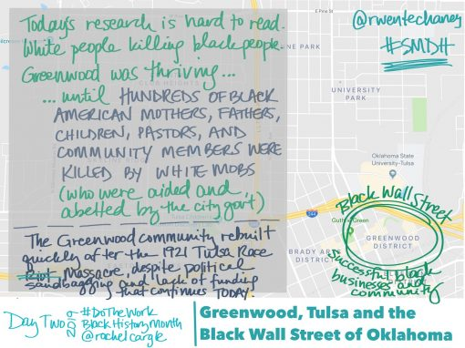 Day 2 — Greenwood, the Black Wall Street of Oklahoma